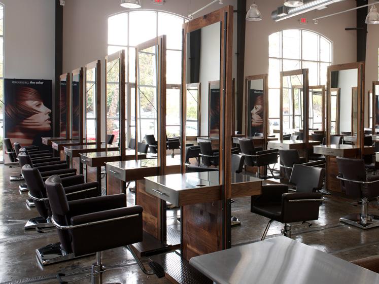 Paul mitchell salon interior joy studio design gallery - Interior design schools in atlanta ...