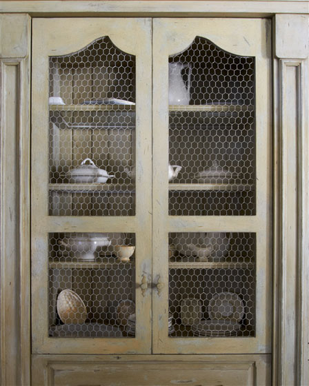 Chicken Wire Kitchen Cabinet Doors: Fort Myers, Florida: Custom Home Design And Build. Mike