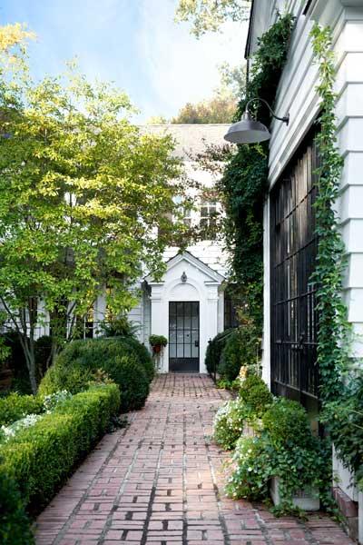 Hydrangeas Hedges And Bricks On Pinterest